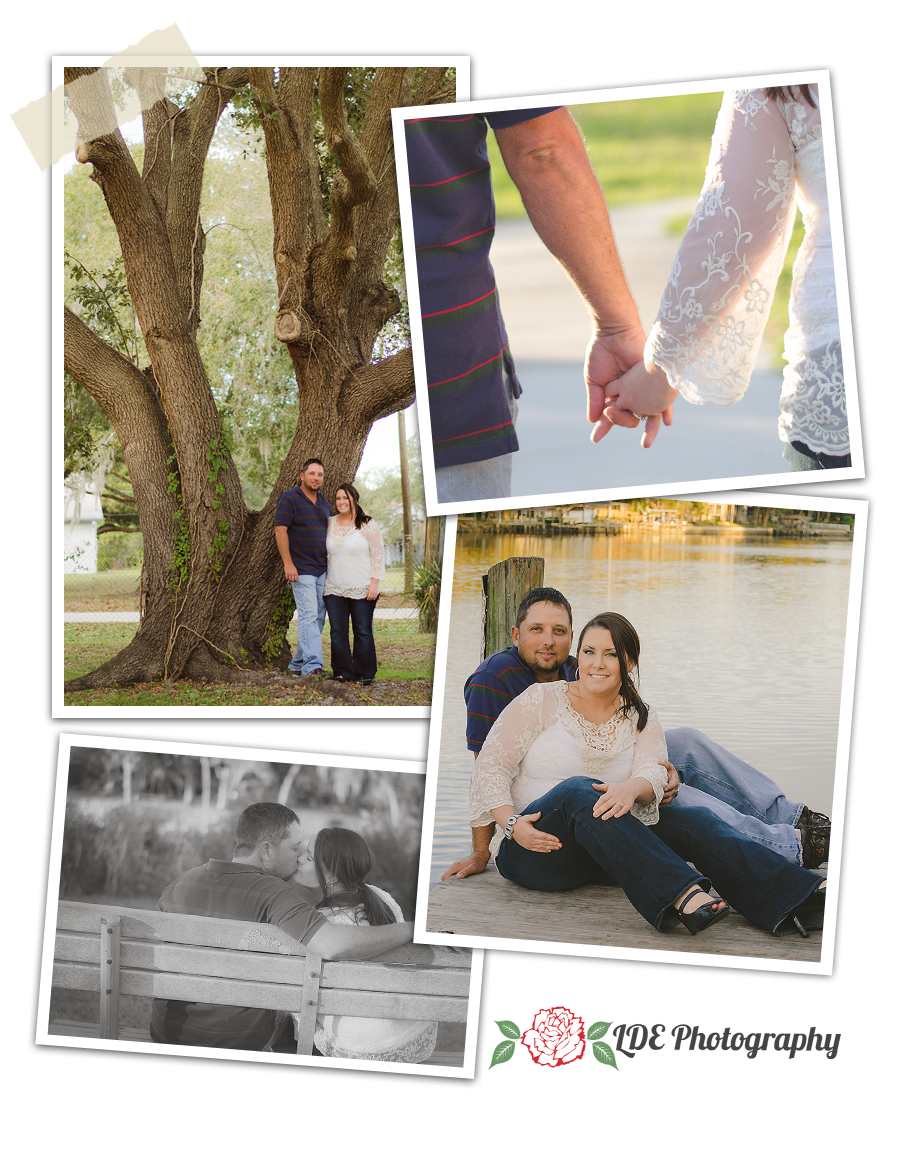 Riverview, FL Civic Center engagement photo session
