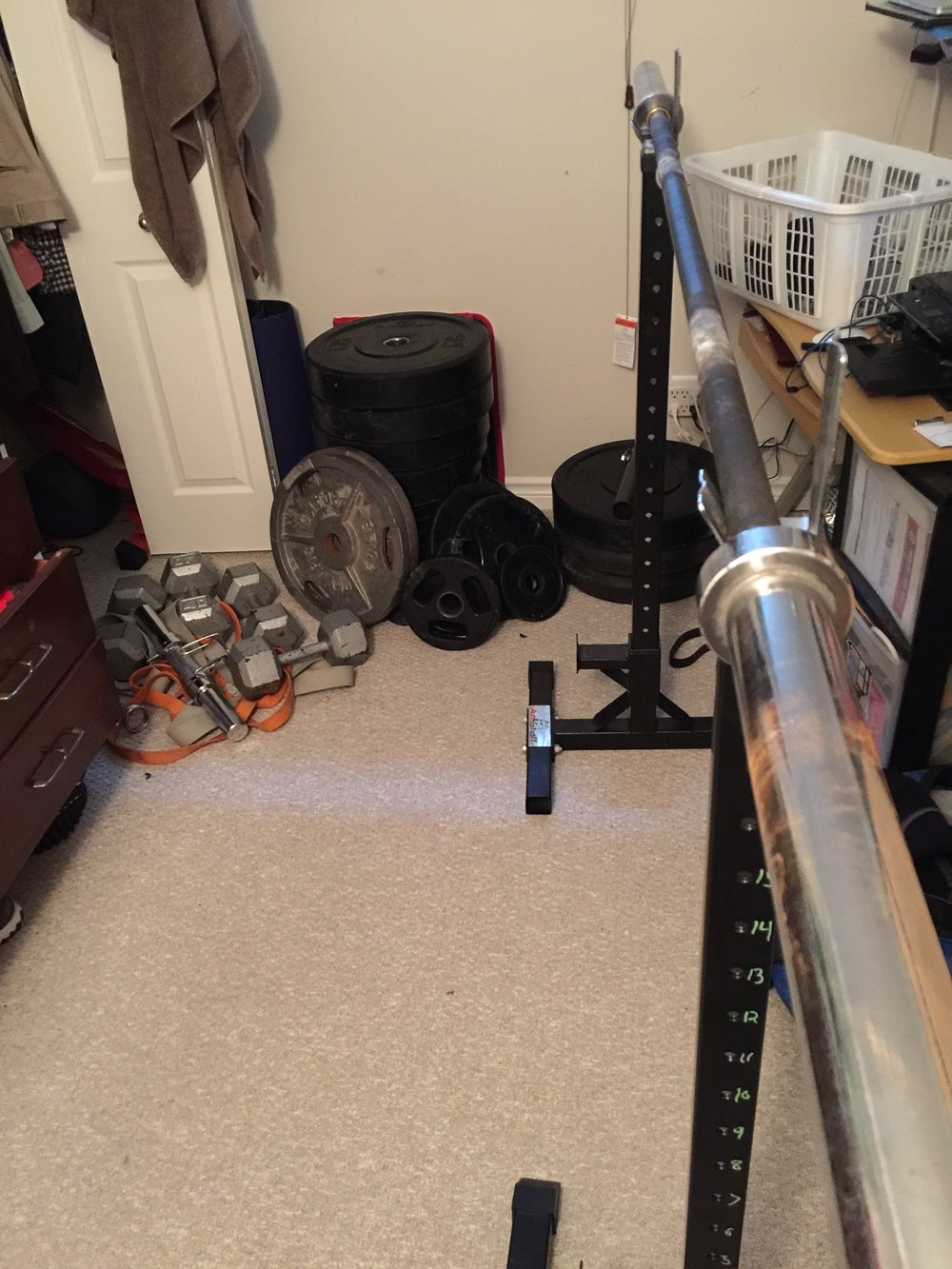 The minimalists garage gym ditch the crowded gym workout at home