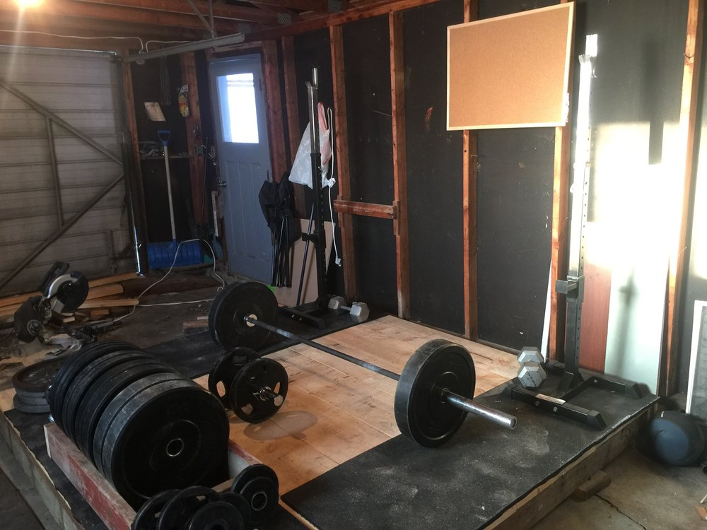 How to make an olympic weightlifting platform — olorin