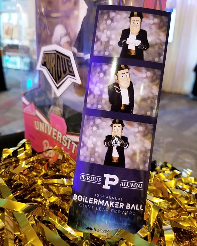 That guy that always wants in the photo booth first! . . . . . #freezeframez #purdue #boillermakerball #boilerup #purduepete #wedding #reception #photobooth #partyrental #openairbooth #weddingreception #indianapolisphotographer #indianawedding #indianaweddingphotographer #companyparty #partyplanner #weddingplanner #weddingplanning #eventrental #corporateevent #indyevent #weddingidea #photoboothfun #eventplanner #eventplanning #indianapolis #indiana #photoboothideas