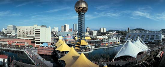 Knoxville: 1982 World's Fair.     Image from    Britannica Online