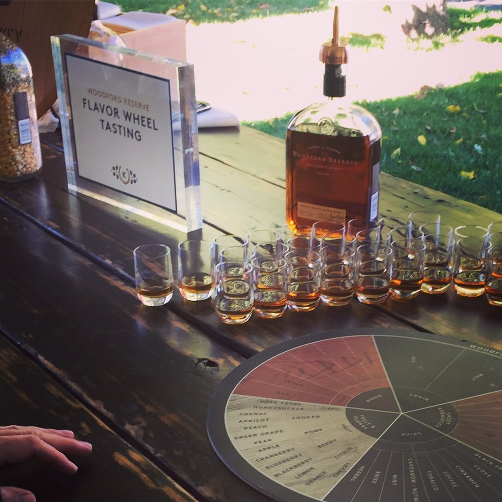 Woodford Reserve Flavor Wheel Tasting at Keene Place