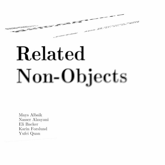 Related Non-Objects, a show by the Second-Year graduate students of RISD Glass, opens tonight! Come by 47 Rathbone for some artwork and conversation.