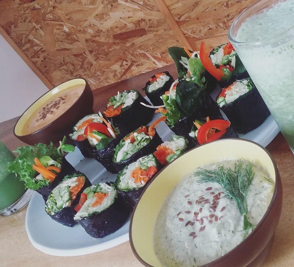 Yogi Cafe Raw Sushi Nori Rolls.jpg