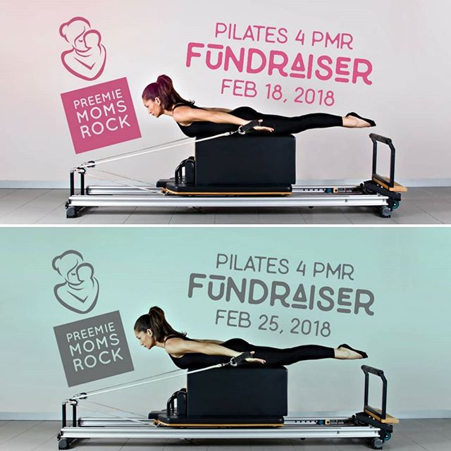No, you're NOT seeing double.  Join us on Sunday, February 18th at Club Pilates in Owings Mills OR Sunday, February 25th at Club Pilates in Hunt Valley!  Details COMING SOON!  Please share with your friends. Why not have fun exercising for a good cause!