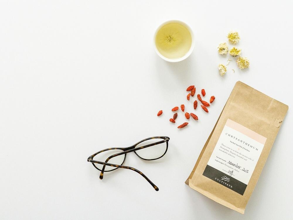 DIY Anti-Aging: Gogi and Chrysanthemum Tea