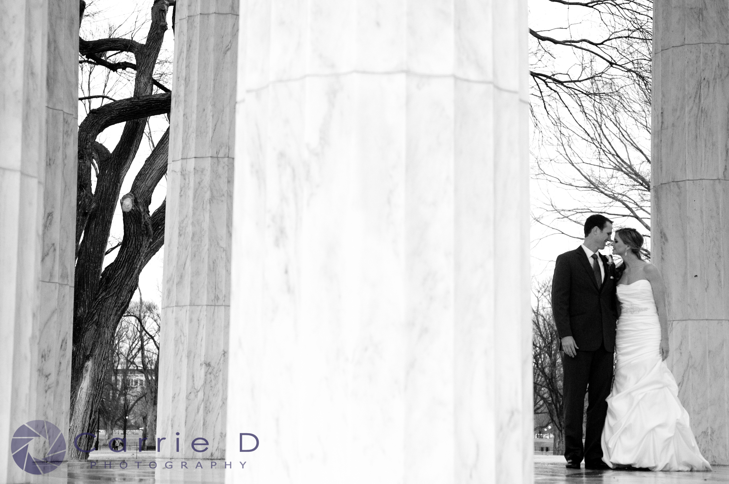 Wedding Photography by Washington Monuments - Washington DC Wedding Photographer - Washington DC Natural Light Wedding Photographer - Washington DC Photographer - Wedding Portraits at the Washington Monuments - Natural Light Photography - Natural Light Photographer - Wedding Photography Washington DC - Top of the Town Arlington Wedding Photographer - Top of the Town Photographer