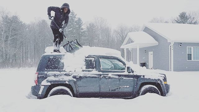 Moving to California... As soon as we get the cars dug out. . . . . . #upstateny #ny #snow #snowstorm #cold #january #winter #newyorkstate #snowedin