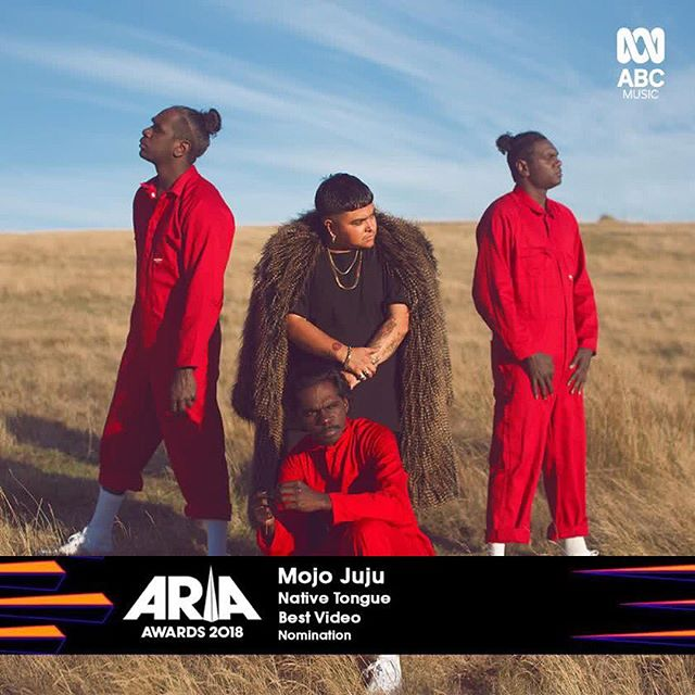 Bloody hell! A music video I shot for @mojojujumusic has been nominated for best video at the ARIA Awards. Big congrats to everyone that was involved, particularly the talented Mojo who is up for 3 nominations!