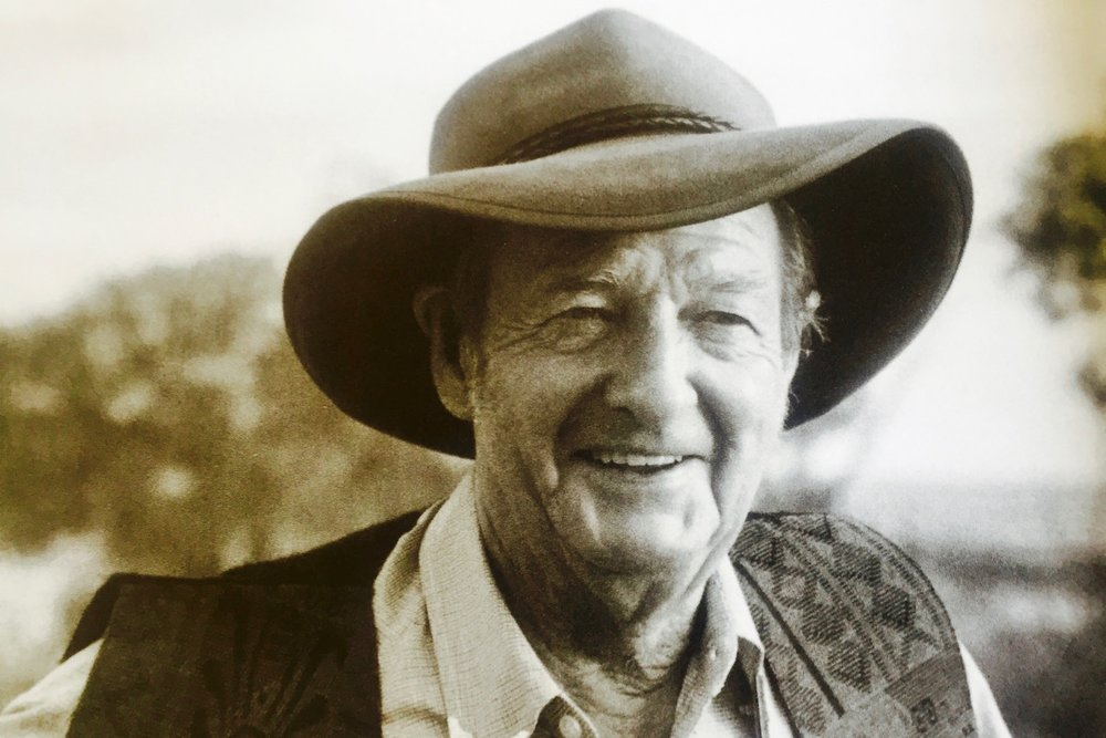 Pictured: The legendary Slim Dusty. Photo: John Elliot