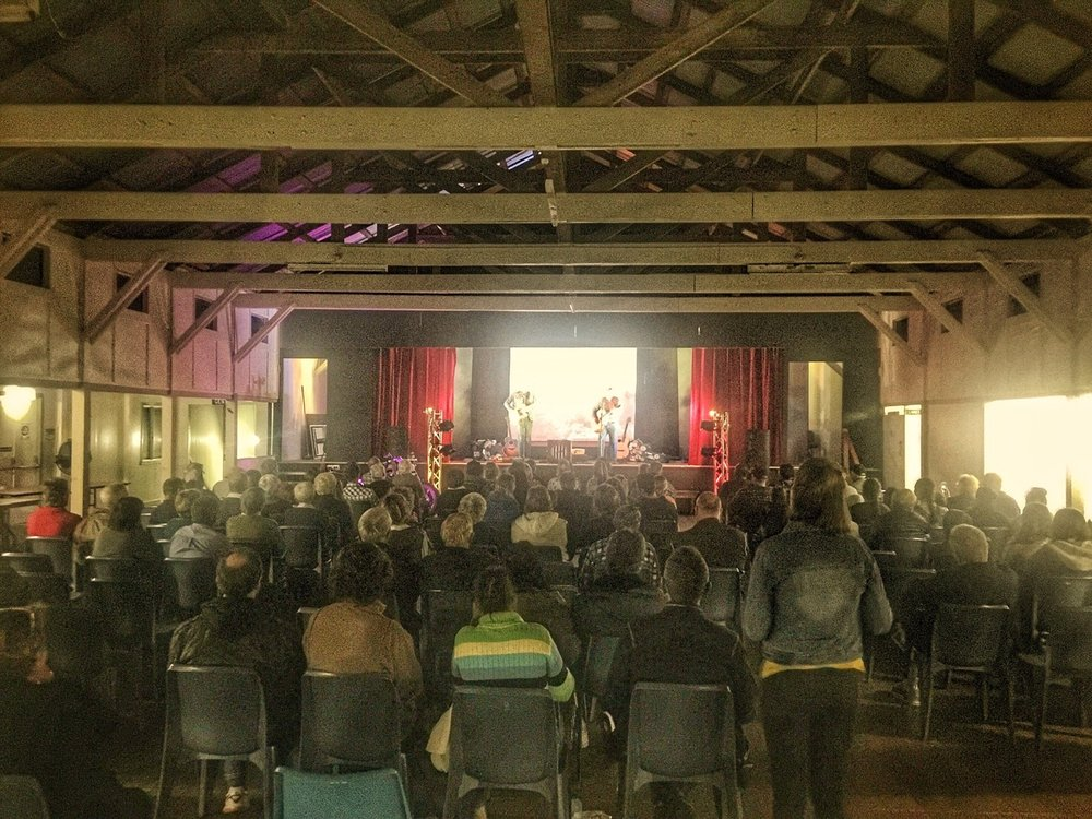 Pictured: Good old fashioned country Gospel music and evangelism in the Tablelands country of North Queensland. Millaa Millaa RSL Hall.