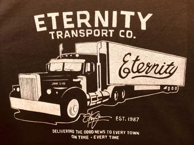 Eternity Truck design by Steve Grace