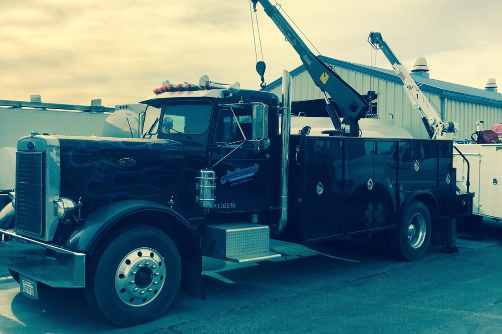 Pictured: A vintage 1967 Peterbilt under consideration for the future Eternity Truck vision.