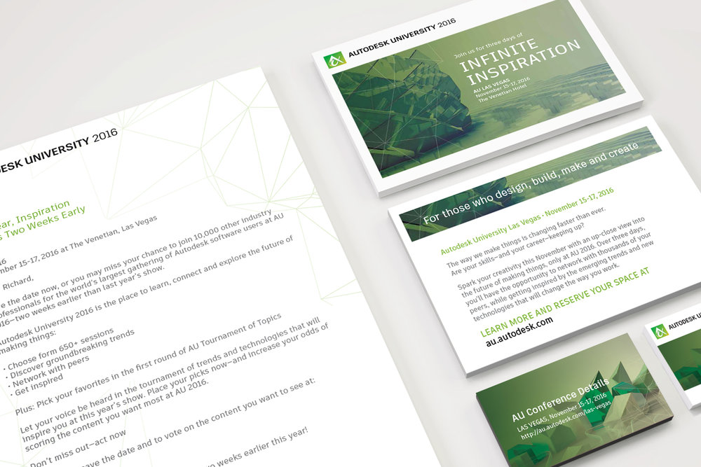 Autodesk Turnkey Marketing Kit:  We're talking invitations, handouts, flyers & email templates designed to help boost attendance at industry events in 18 countries