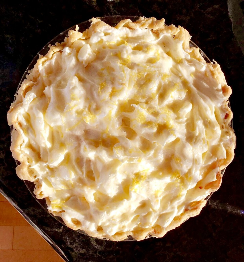 My Grandmother's famous Lemon Meringue Pie