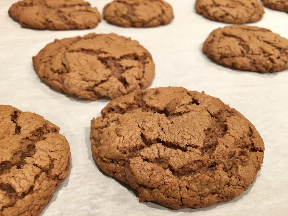 GLUTEN FREE PEANUT BUTTER AND NUTELLA COOKIES