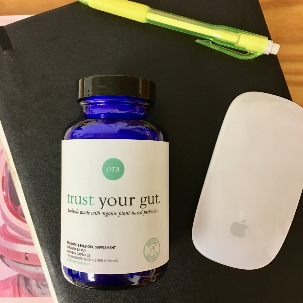 THESE PROBIOTICS ARE TOUTING MY MANTRA THIS MONTH - TRUST YOURSELF