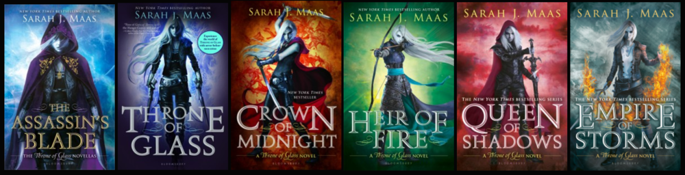 A Throne of Glass Series