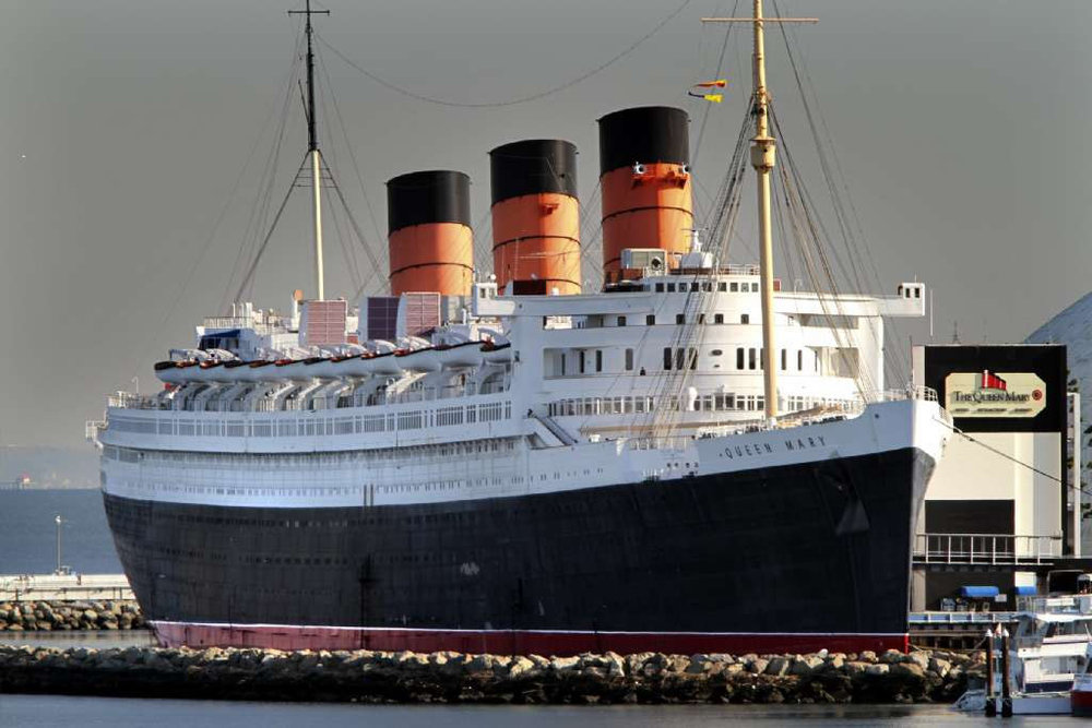 It just isn't Long Beach without the Queen Mary, now a historic hotel and attraction site open for festivals and special events all year round.