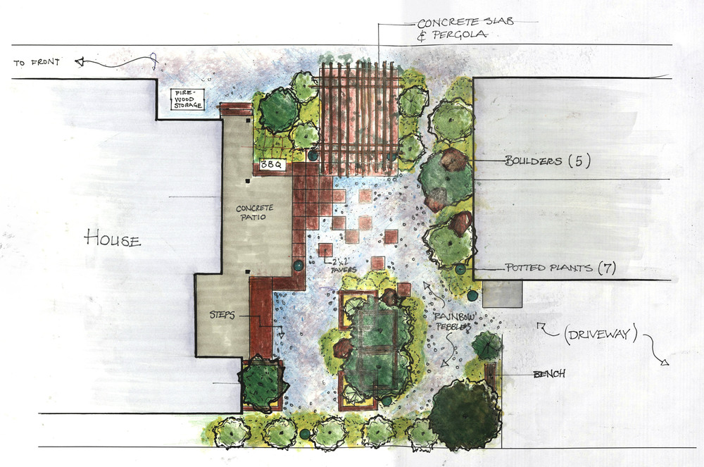 Conceptual Plan: Alpine Retreat
