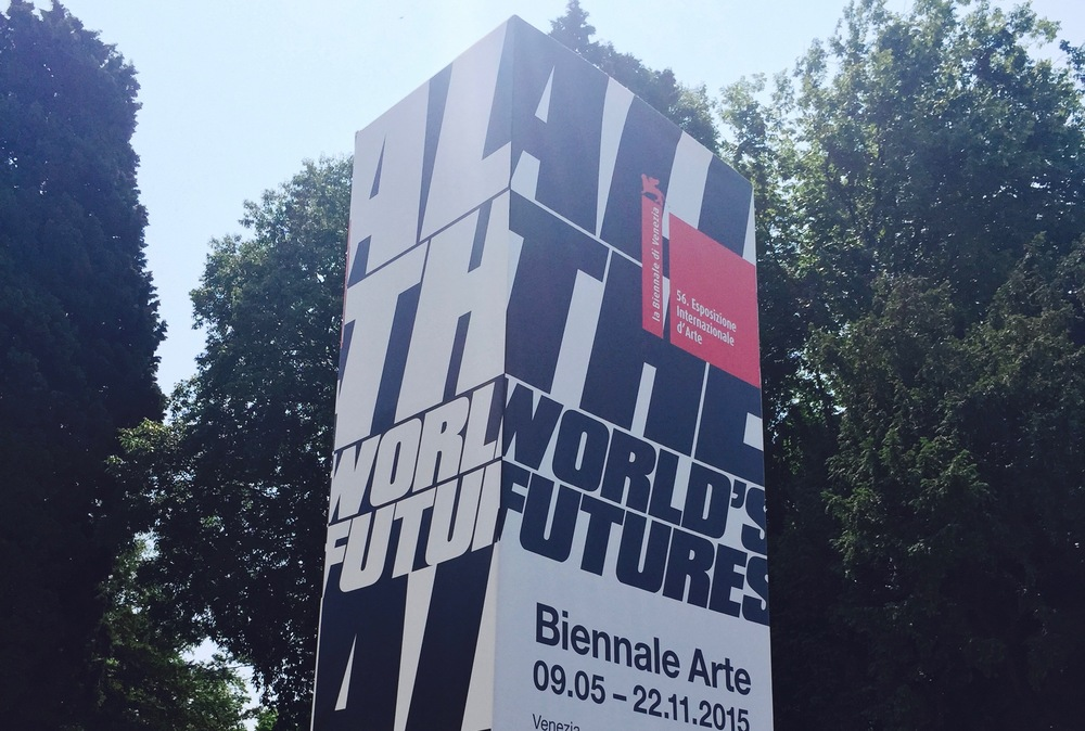 studio weissschwarz in venice - ALL THE WORLD'S FUTURES