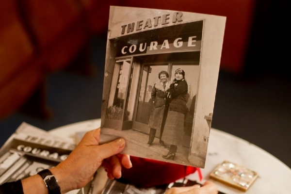 COURAGE , 2015 (Set photo: Reinhard Mayr)