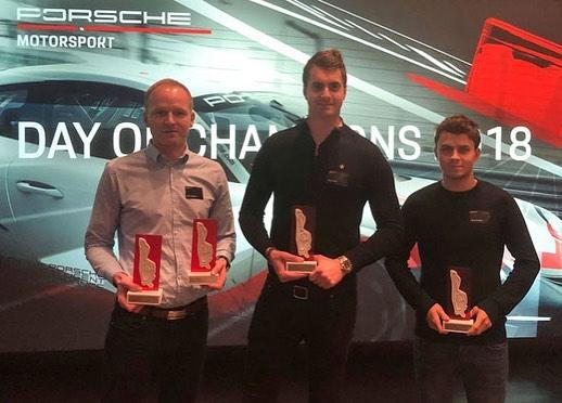 Alltid lika trevligt hos Porsche Motorsports årliga prisutdelning i Weissach☺️ kul att min underbara teamkompis @david_lefevre följe med 🍾 #porschemotorsport #nightofchampions