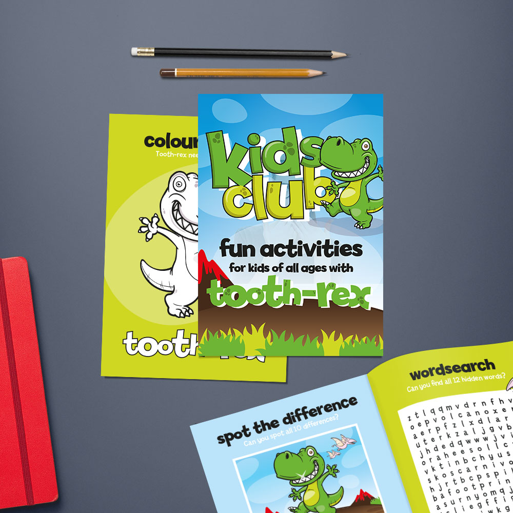 Dental kids leaflets
