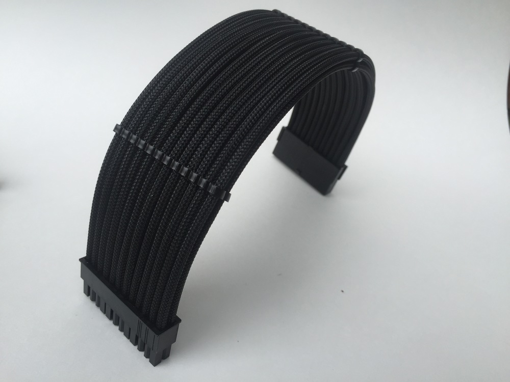 Black cable extension