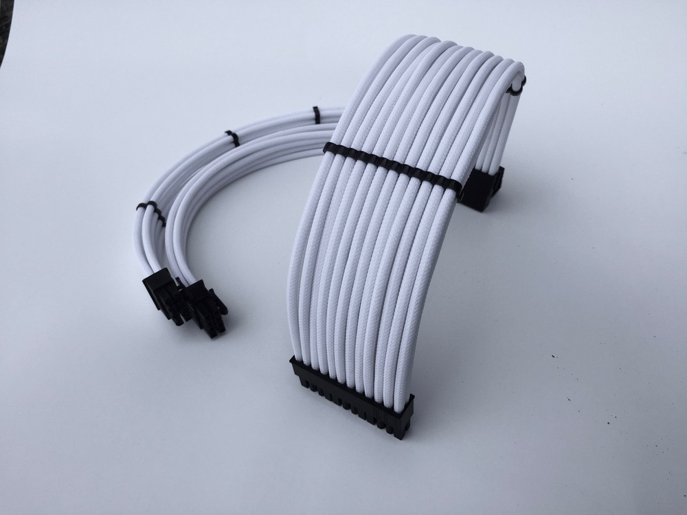 PSU custom cable extensions