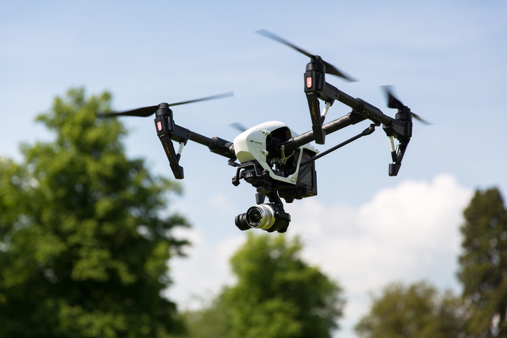 DJI Inspire 1 Pro with Olympus 45mm f1.8 lens