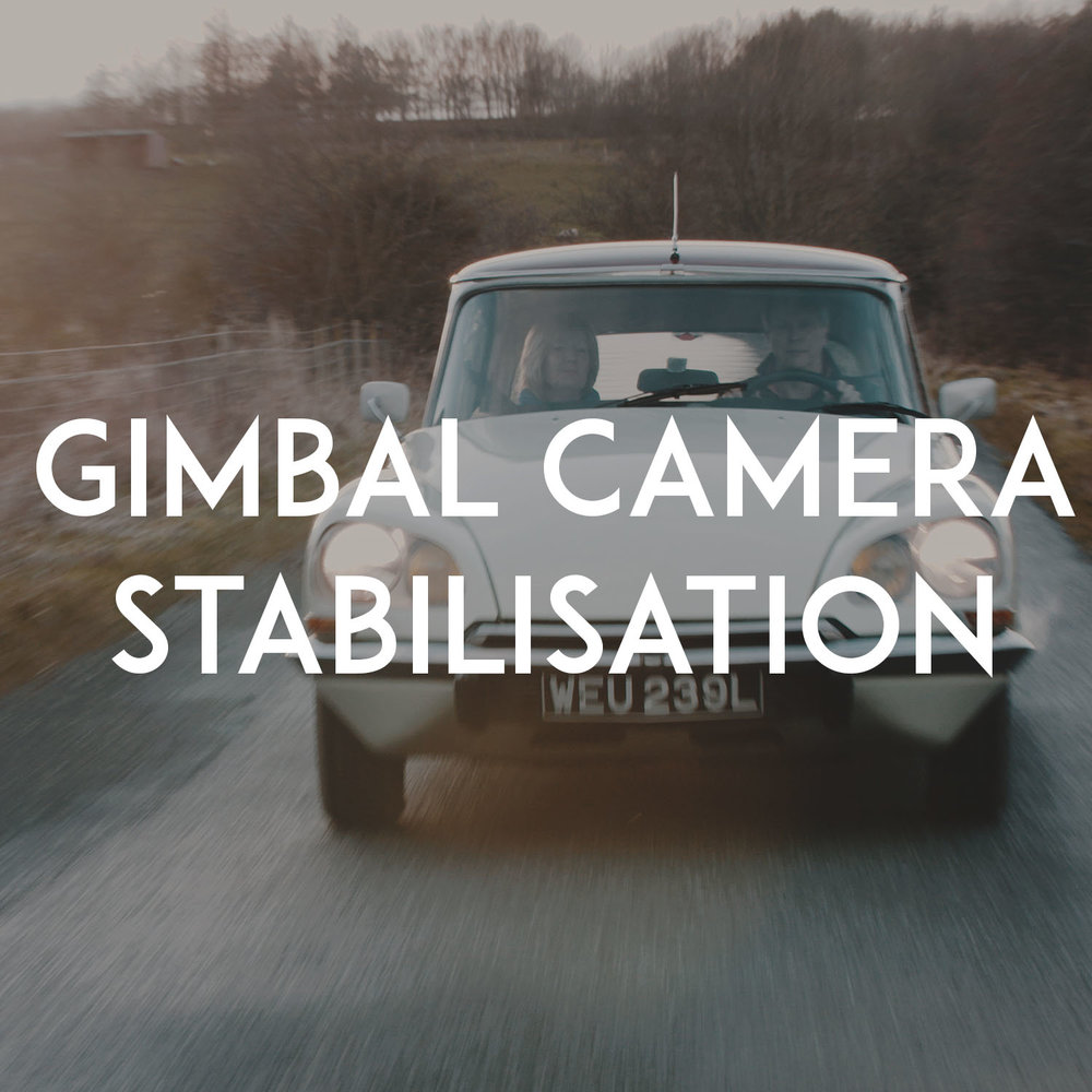 3-Axis Gimbal Stabilisation