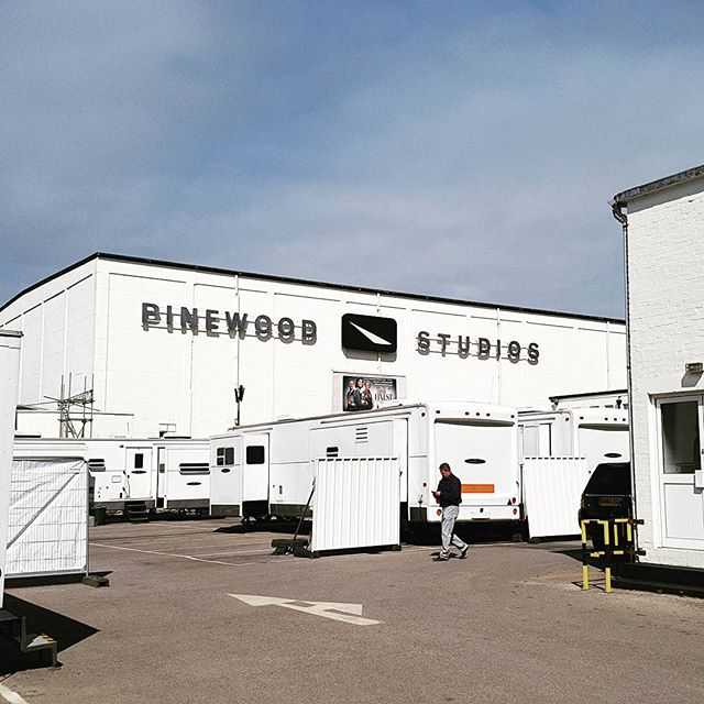 Just another day at Pinewood Studios.  #pinewoodstudios #filmmaking #filming #filmindustry #filmlife🎬