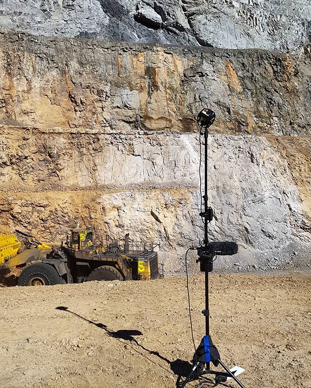 Cineflow have been out in Peru all week filming 360 at a Mine. . . . #360video #goproomni360 #goprohero #GoProOmni #360vr #vr #virtualreality #miningforgold #thatsabigtruck