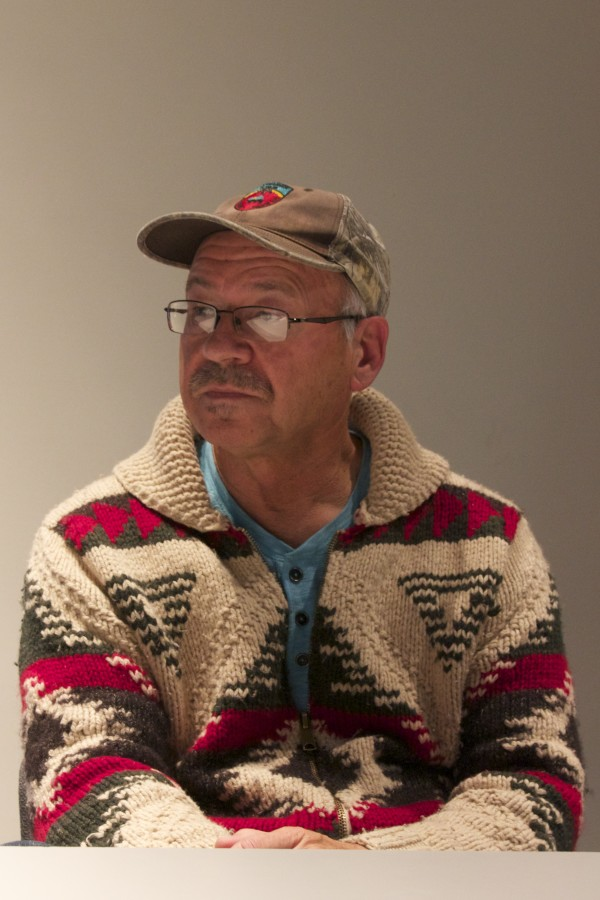 Donald Soctomah has been involved in efforts to keep the Passamaquoddy language alive. PHOTO BY JOHANNA S. BILLINGS/BDN