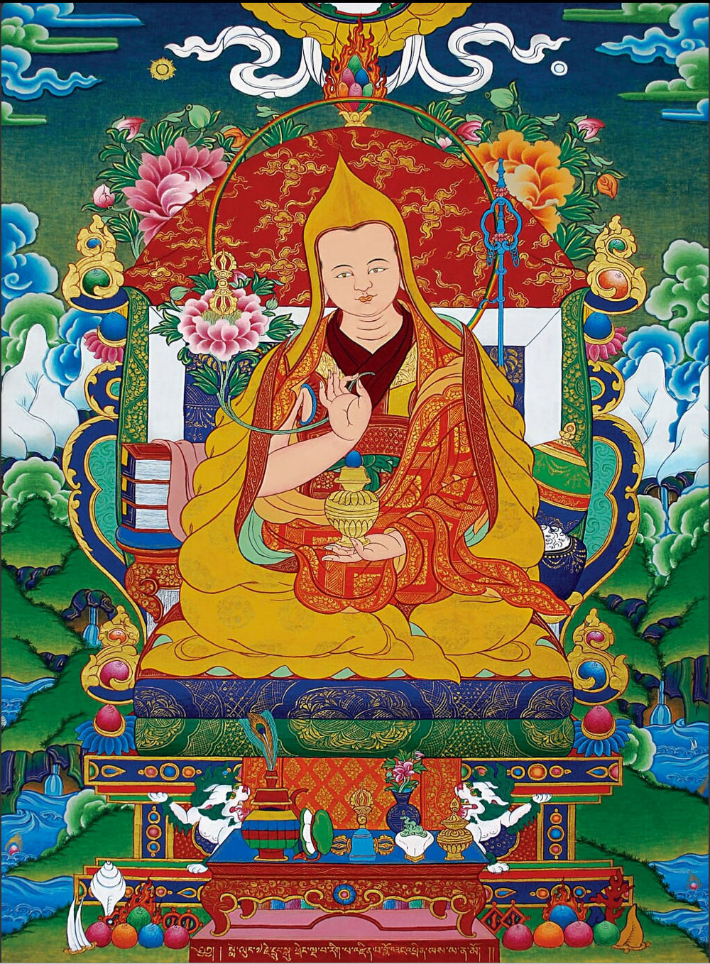 The Great 5th Lelung Rinpoche