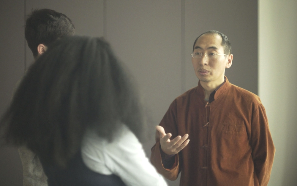 Lelung Rinpoche meets the audience after a talk