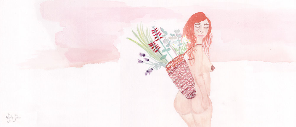 Illustrations by  Kyla Stone