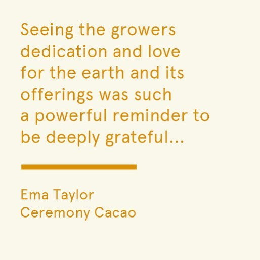 Live on the journal today, we trace the roots and traditional medicinal uses of the revered cacao bean back to Peru with Ema Taylor from @ceremonycacao 🍫🌿