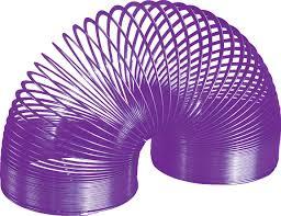 purple slinky