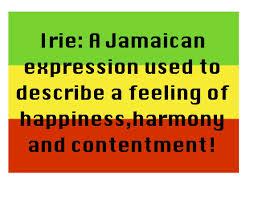 irie definition