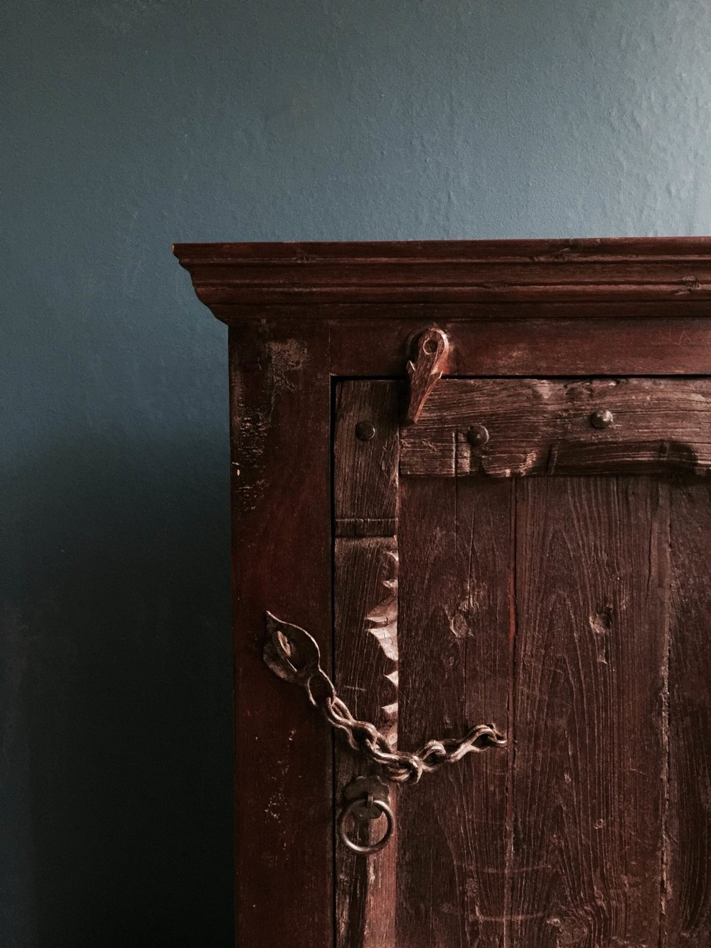 Indian Brown Cabinet (no code) £270 (details).JPG