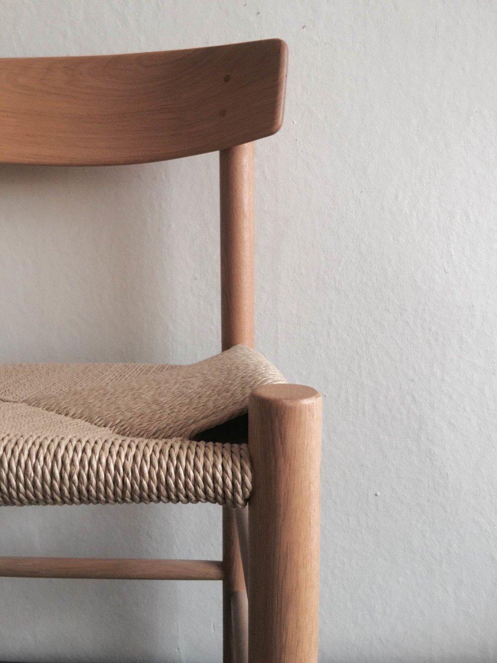 Oak Chair with Jute Seat £165 (details 2).JPG