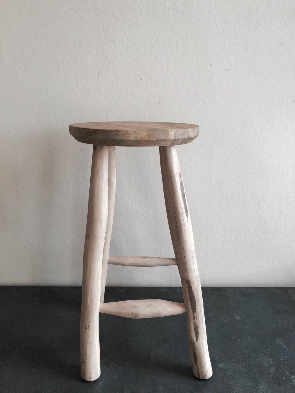 Tall Wooden Stool £140 (2).JPG