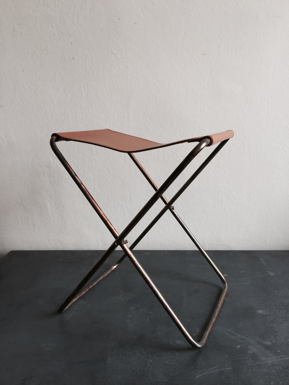 Leather Foolding Stool £95.jpg
