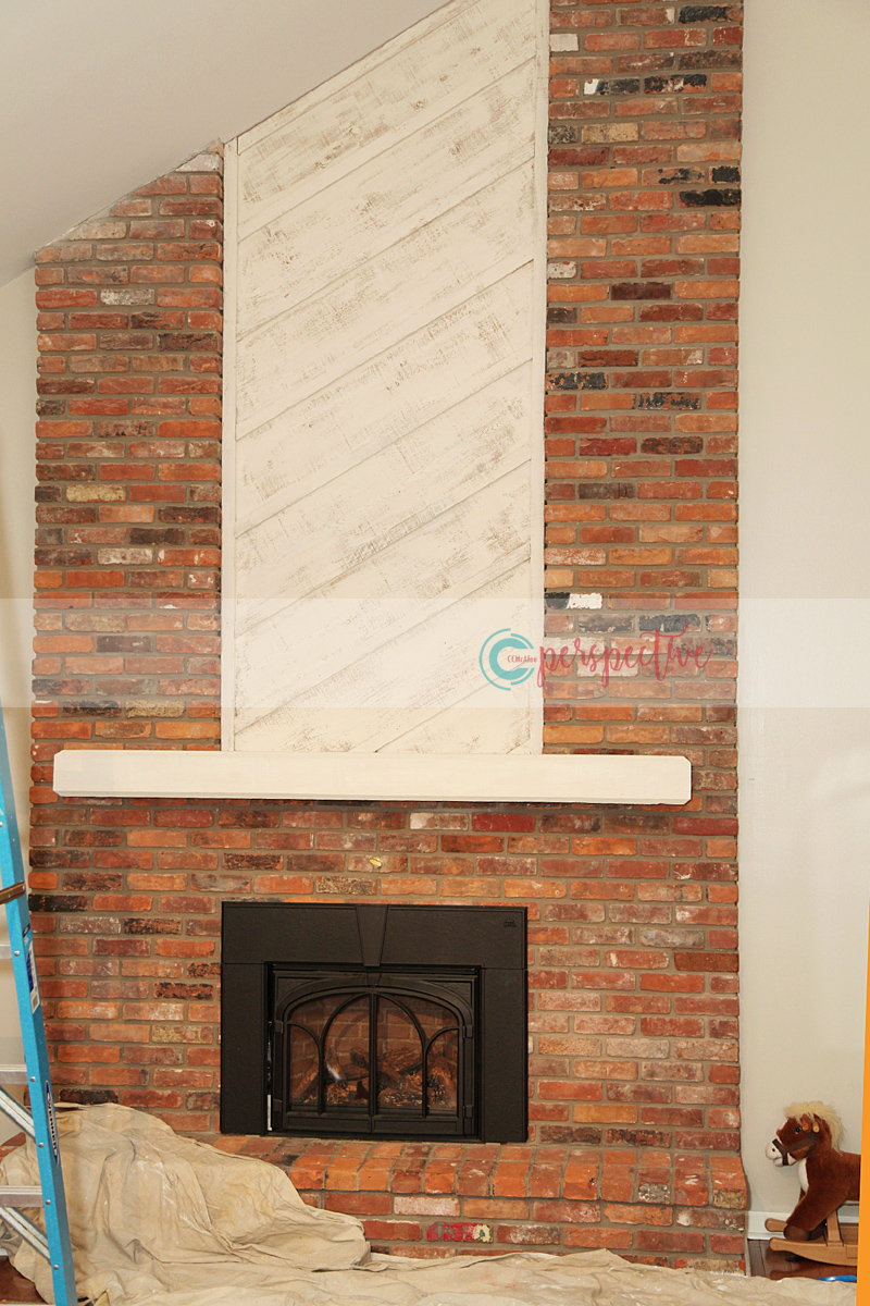 perspective by ccmcafee u2014 fireplace makeover in the family room