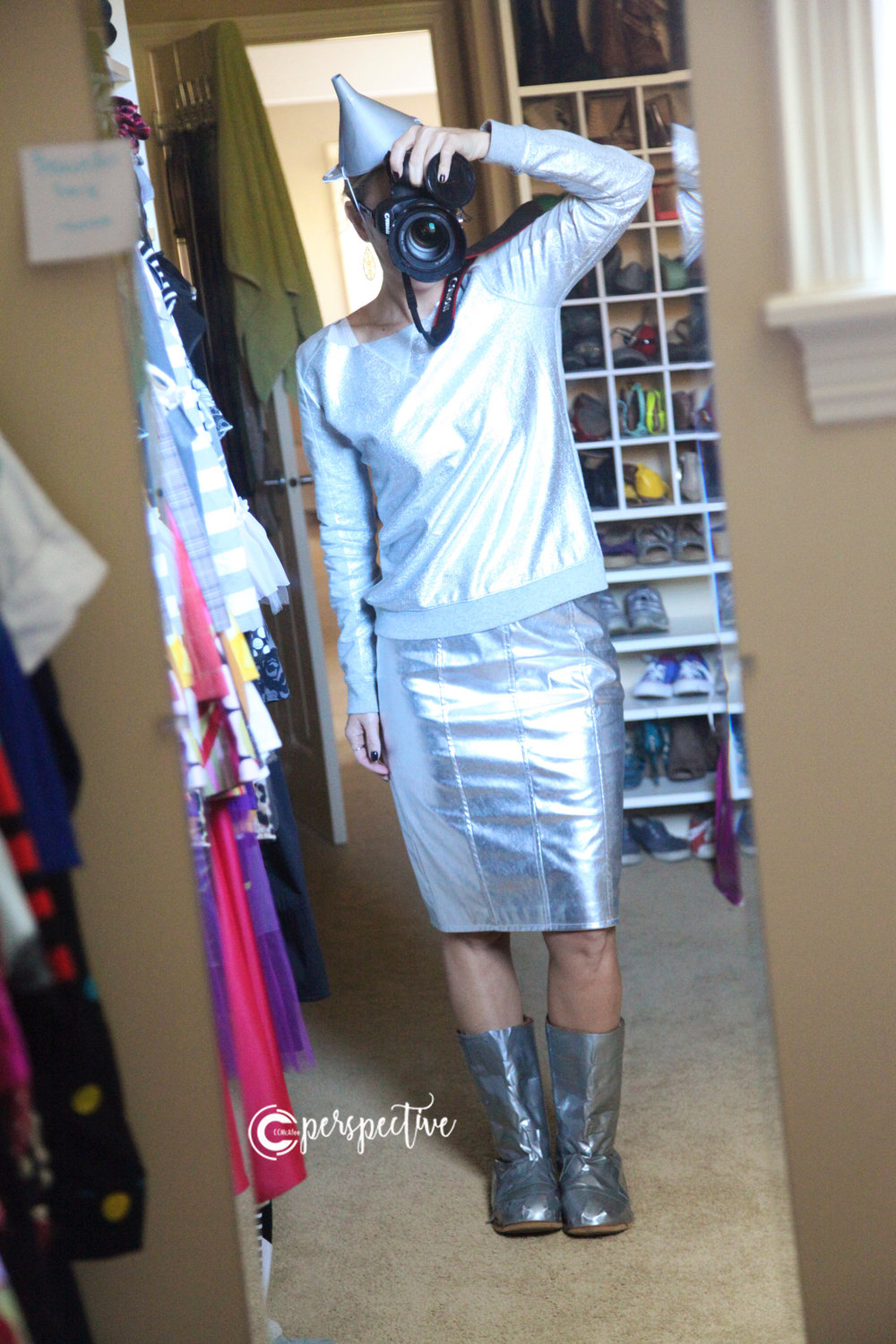 ladies tin man diy costume