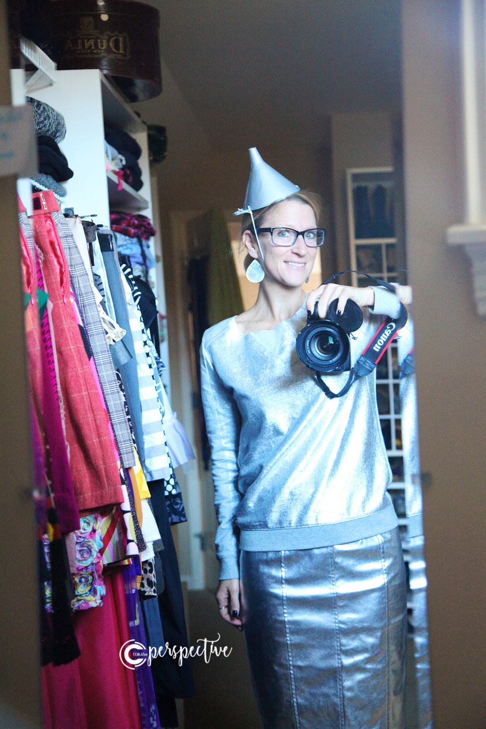 silver skirt, diy halloween costume
