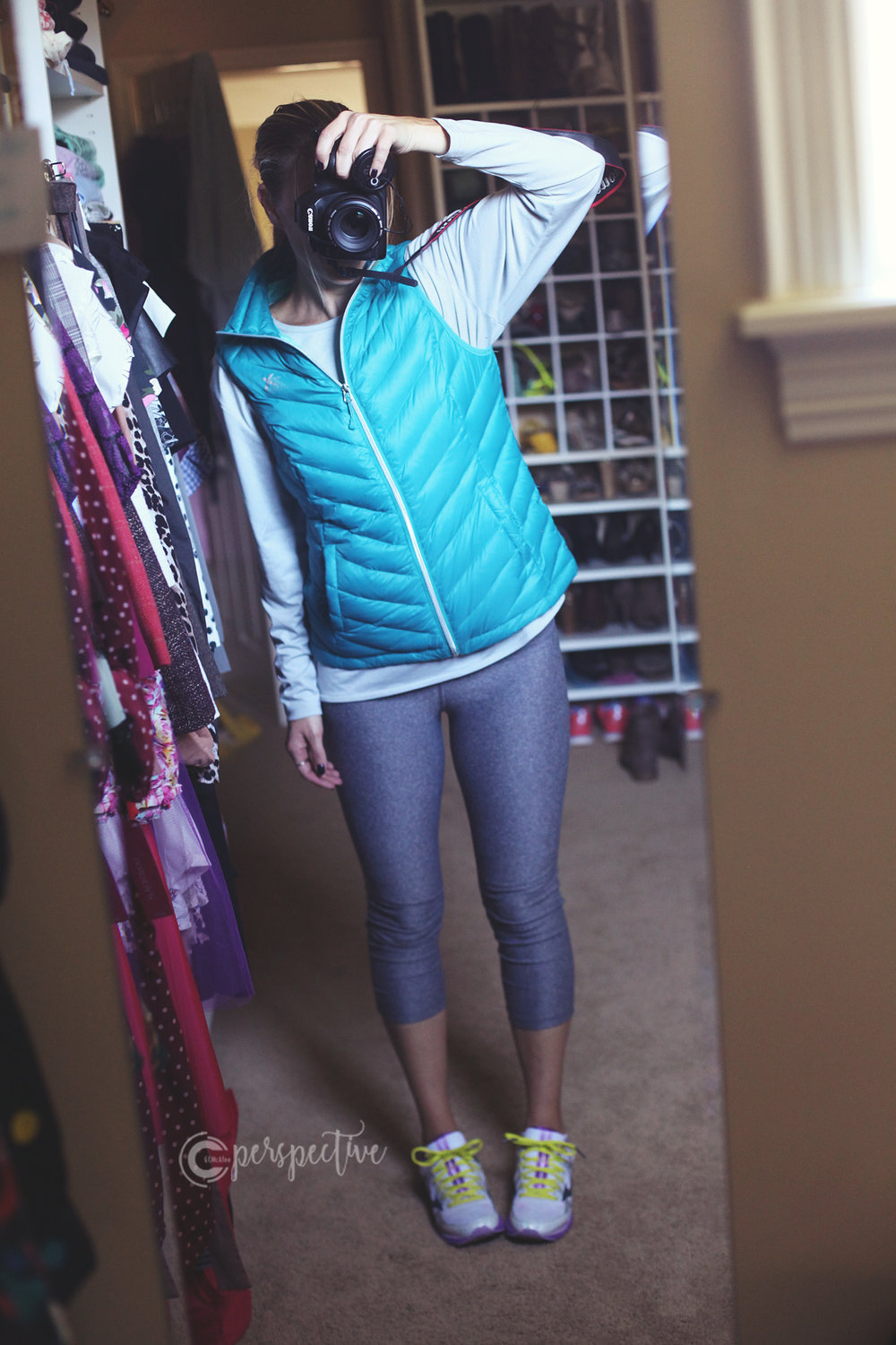 layering, vest, cute athletic wear, athleisure