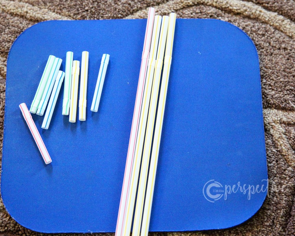 straw weaving for kids